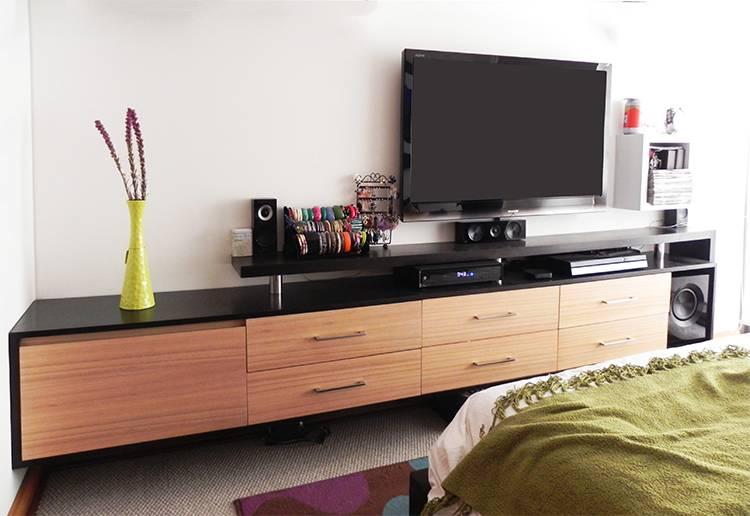 Mueble tv dormitorio dise os arquitect nicos for Mueble tv dormitorio