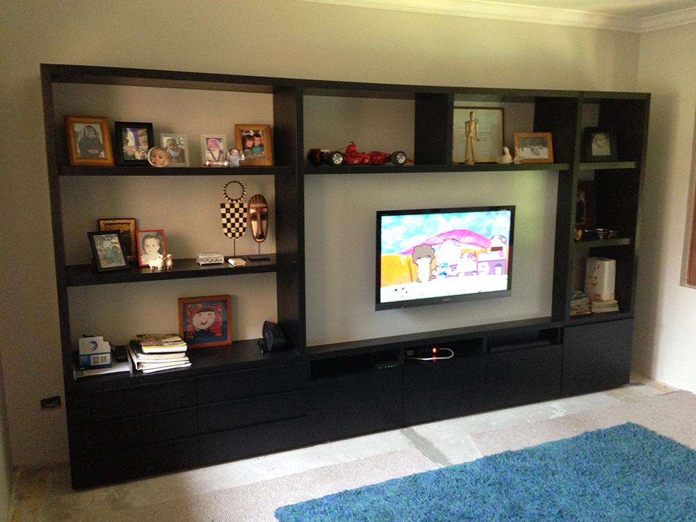 Mueble sala de estar modernos y lujosos muebles para tv - Muebles sala estar ...